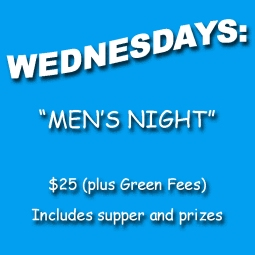 MENS NIGHT FOR TWO HILLS GOLF